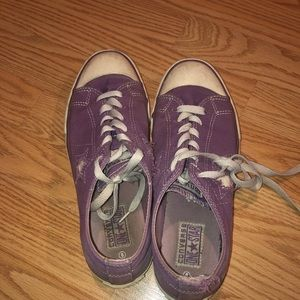 vintage purple converse